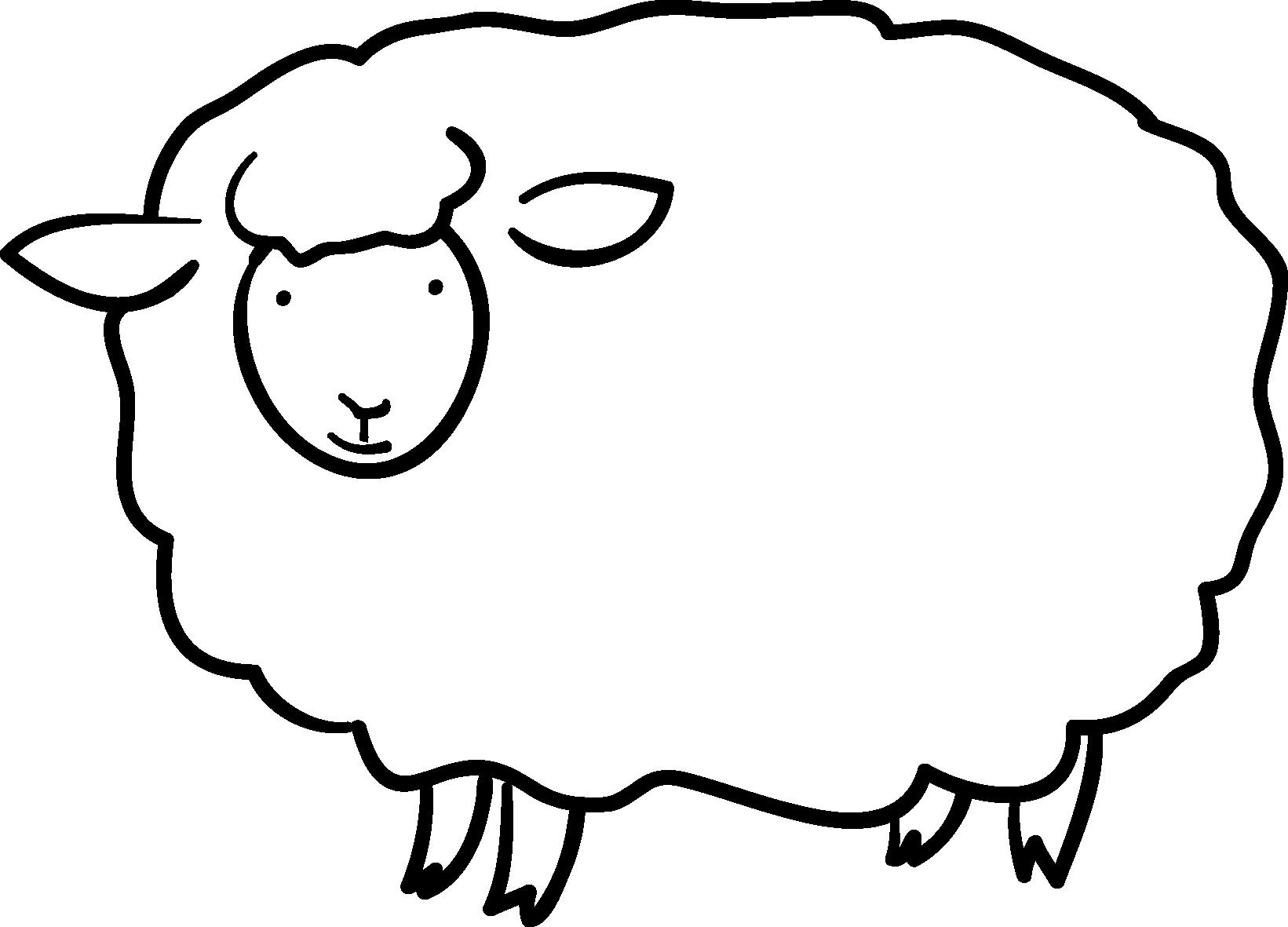 ... 素材-カット素材「羊の素材