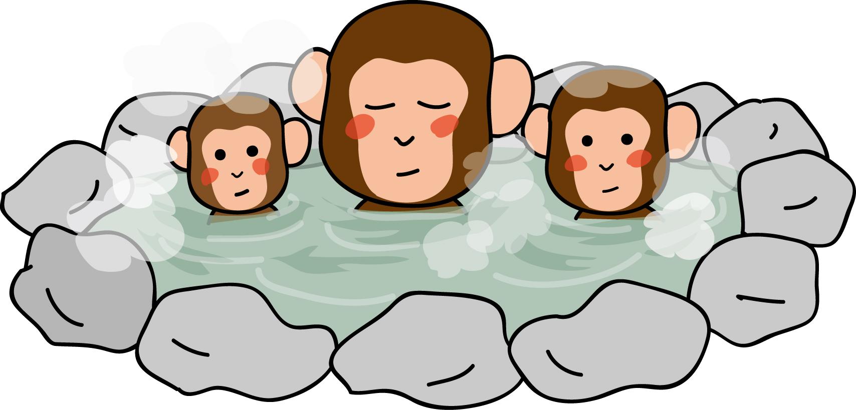 すべての講義 年賀 羊 : 印刷素材-カット素材「猿の ...